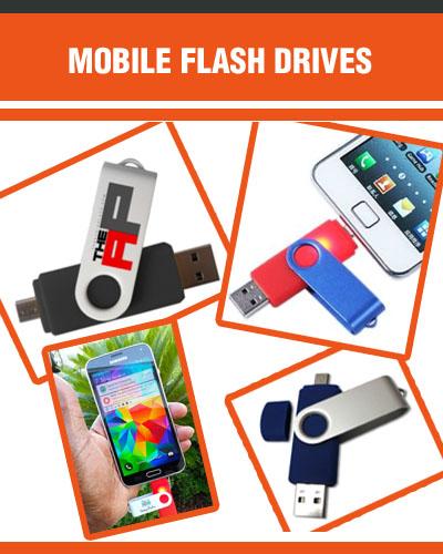 Custom Flash Drives for Mobile