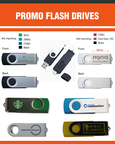 Custom Flash Drives for Promo