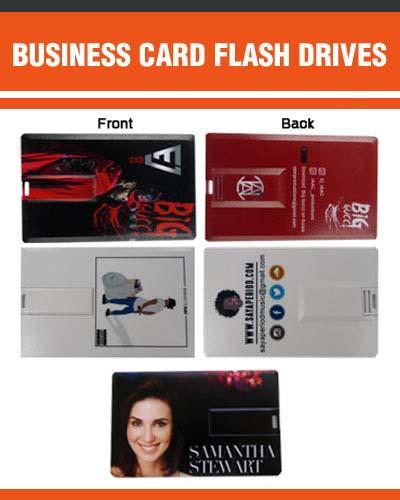 4GB Business Card Flash Drive
