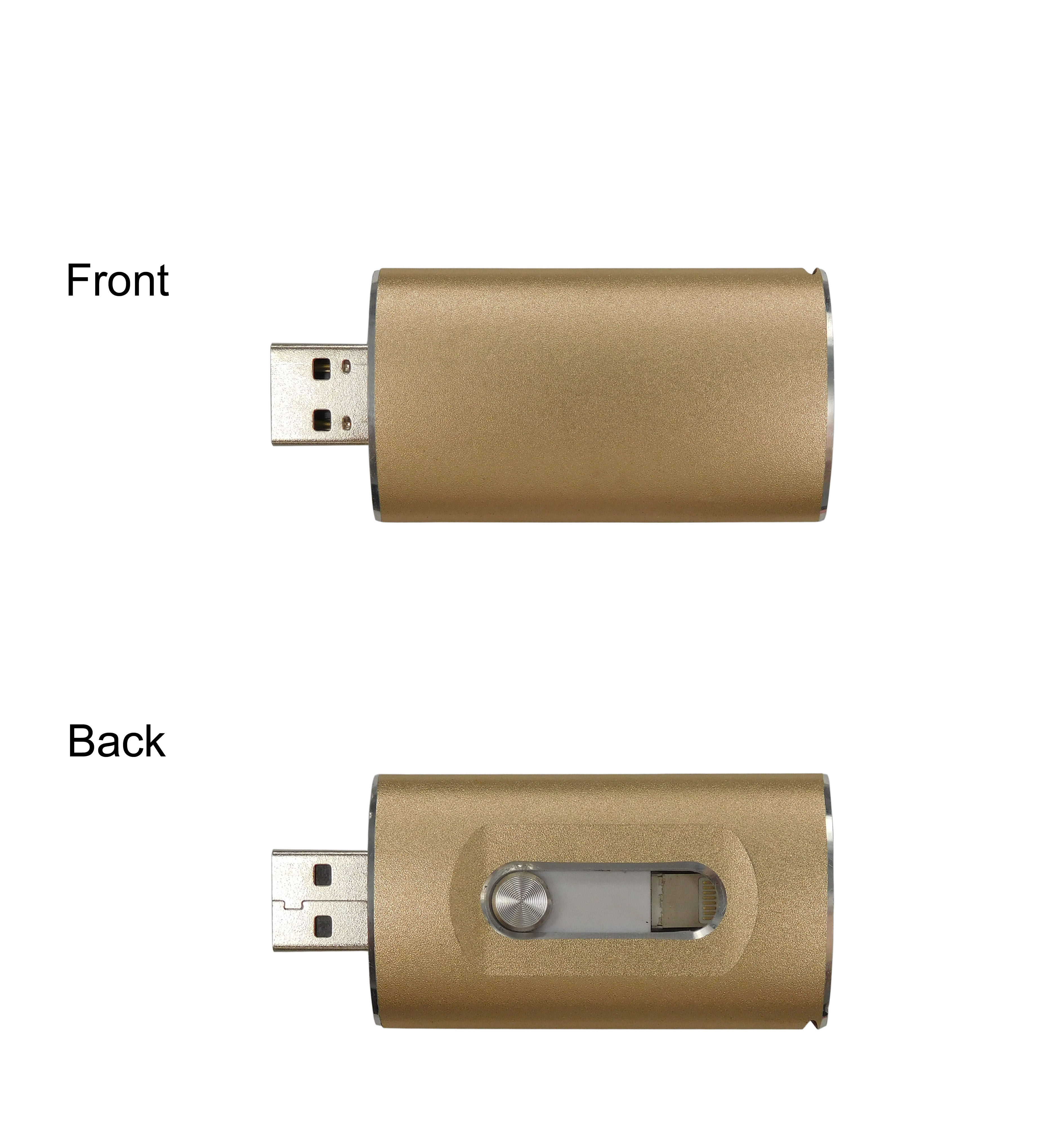 ios custom usb flash drives for iphone ipad in all colors