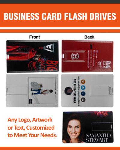 Custom Business Card Flash Drives